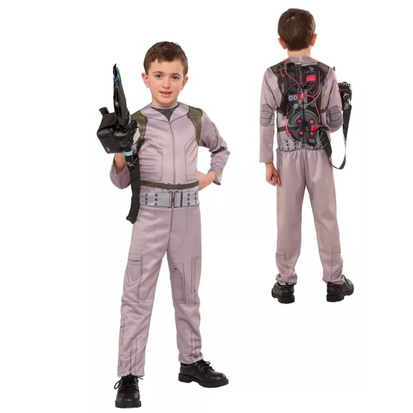 ghostbusters boys halloween costume size small 4 6